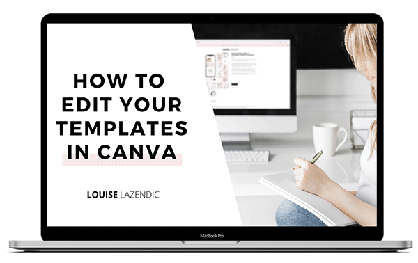 how to edit your templates